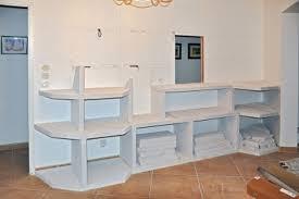 fabriquer meuble salle de bain beton cellulaire fabriquer sa cuisine soi mme voil une astuce pour le rangement