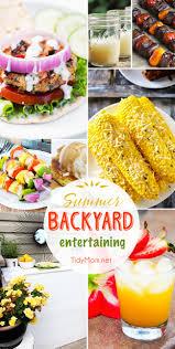 summer backyard entertaining ideas tidymom