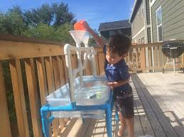 diy sand and water table pvc making a sand water and rice table out of pvc pipes for