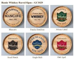 Wine Barrel Home Decor Buy Personalized Wine Barrel Home Decor Sign Family Winery In