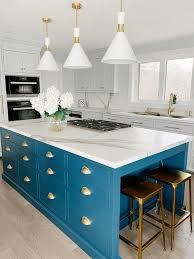 blue kitchen cabinets toronto 3 stunning kitchen colour trends for 2020 bloomsbury