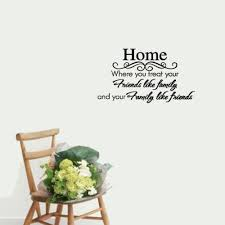 Quotes For Home Decor by Online Get Cheap Family Friend Quotes Aliexpress Com Alibaba Group
