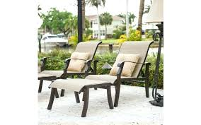 luxury patio chairs with ottomans for wrought iron patio furniture