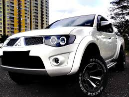 mitsubishi strada modified mitsubishi triton modified auto cars