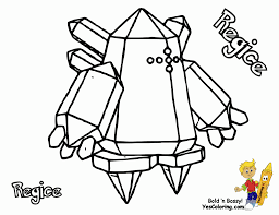 pokemon coloring pages wailord regice coloring pages 4442
