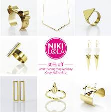 thanksgiving 2013 canada niki u0026 lola thanksgiving jewellery sale a side of vogue