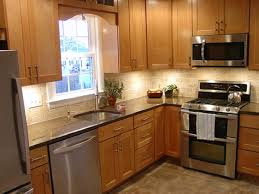 marvellous small l shaped kitchen design with island photo ideas