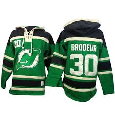new jersey devils martin brodeur 30 green authentic jersey sale