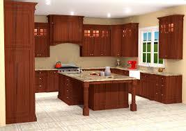 Mahogany Kitchen Designs Inset Mahogany Kitchen Design Rendering Nick Miller Design