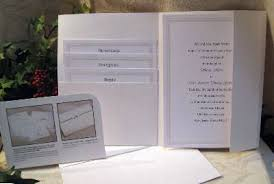 pocket invitation kits wilton wedding invitation kits amulette jewelry