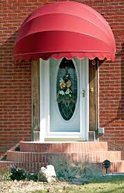 Fabric Door Awnings Seville Dome Shaped Awning Curb Appeal Pinterest Sunbrella
