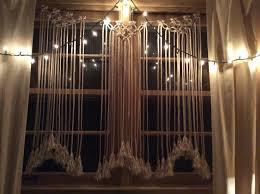 macrame curtain macrame window curtain home decor