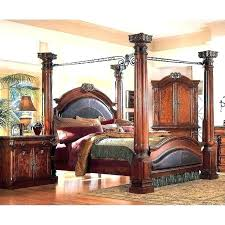 Four Post Canopy Bed Frame Four Poster Bed King Bed With Posts 4 Poster Bed Frame Bed Frames