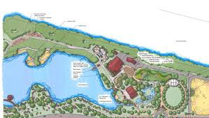 Chicago Botanic Garden Map by Lake Katherine Learn About Us Master Site Plan