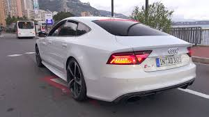audi rs 7 sportback 2016 audi rs7 sportback performance start up revs