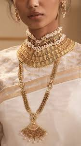 luxury gold necklace images Modern gold jewellery in contemporary bridal style goldjewellery jpg