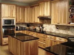 What Countertops Go With Hickory Cabinets Google Search - Hickory kitchen cabinets pictures