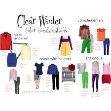 winter color schemes clear winter color combinations clear winter winter colors and