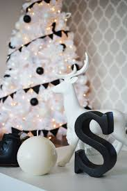 christmas decorations black white super elegant black and gold
