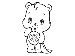 care bears coloring pages coloring pages care