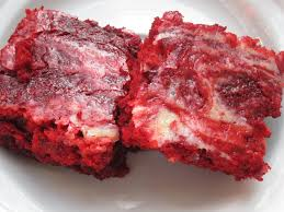 red velvet cream cheese brownies happy when not hungry