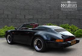 porsche for sale uk porsche 911 3 2 speedster wide lhd