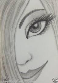 how to do pencil sketch aceo atc original pencil drawing beautiful