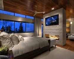 Houzz Master Bedrooms by Magnificent Master Bedroom With Fireplace Master Bedroom Fireplace