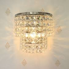 Crystal Wall Sconce by Online Get Cheap Contemporary Crystal Wall Sconces Aliexpress Com