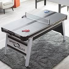 Air Hockey Coffee Table Sport Squad Hx66 Air Hockey 66 In With Table Tennis Conversion