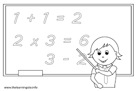 numbers coloring pages getcoloringpagescom jr division math page