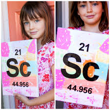 Periodic Table Project Ideas An Art Project For Your Little Scientist A Giveaway Pretty