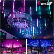 multi colored led christmas lights multi color led snow falling tube light 3d outdoor led hanging