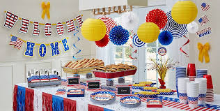 party goods welcome home party supplies patriotic party supplies