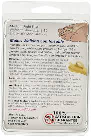 8 Cushion Amazon Com Pedifix Felt Hammer Toe Crest Cushion Medium 8