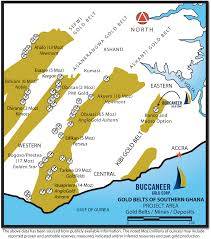 Accra Ghana Map Buccaneer Gold Corp Company Overview