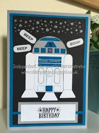 star wars birthday greetings stamp ninja star wars r2d2 birthday card