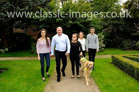 family portraits in the walled garden sunbury classic images