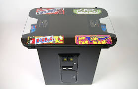Cocktail Arcade Cabinet Kit Cocktail Table Black