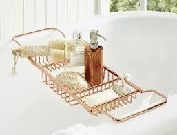 Bathroom Caddies Shower Sauna M F Soho Bath Caddy Bamboo Bath Caddy Bath Thick Glass