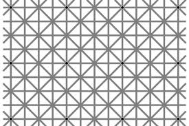 here u0027s why you can u0027t see all twelve black dots in this optical