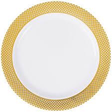 premium plastic dinner plates webstaurantstore