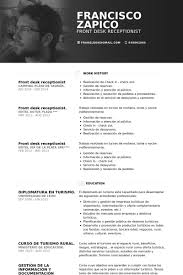 Front Desk Receptionist Sample Resume by Front Desk Resume Samples Visualcv Resume Samples Database