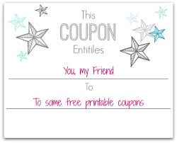 26 images of make your own thank you coupon template infovia net