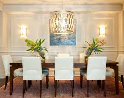 Dining Room Chandeliers Transitional Clean Transitional Dining Room Chandelier Wall Sconces