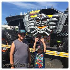 monster truck show metlife stadium monster jam path of destruction makes history mommy teaches