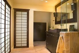 Asian Closet Doors Astonishing Linen Closet Doors Home Renovations With Bathroom