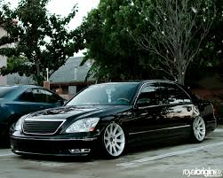 slammed lexus ls460 ls 430 on style 95s on7evens