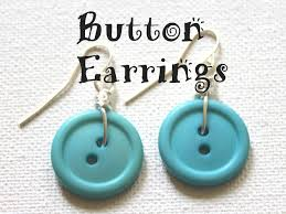 button earrings button earrings emerging creatively jewelry tutorials