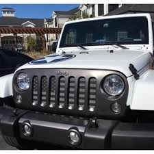jeep wrangler front grill under the sun black out wrangler jk grille insert black out usa